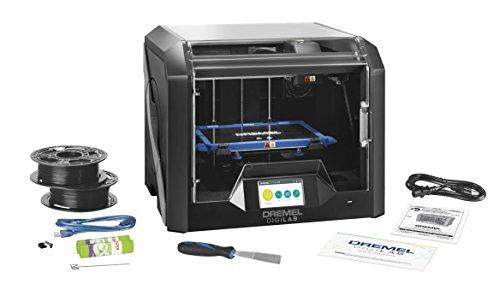 Dremel DigiLab 3D45 Award Winning 3D Printer w/Filament, PC & MAC OS, Chromebook, iPad Compatible, Network-Friendly, Built-in HD Camera, Heated Build Plate, Nylon, ECO ABS, PETG, PLA Print Capability - GreatEagleInc