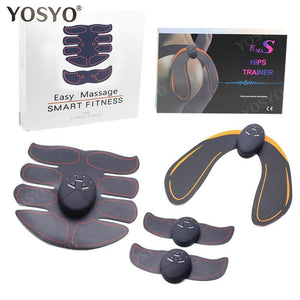 EMS Hip Trainer Muscle Stimulator ABS Fitness Buttocks Butt Lifting Buttock Toner Trainer Slimming Massager Unisex - GreatEagleInc