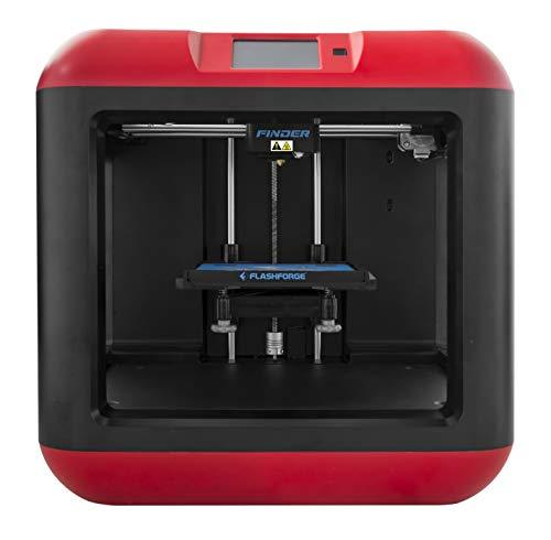 FlashForge Finder 3D Printers with Cloud, Wi-Fi, USB cable and Flash drive connectivity - GreatEagleInc