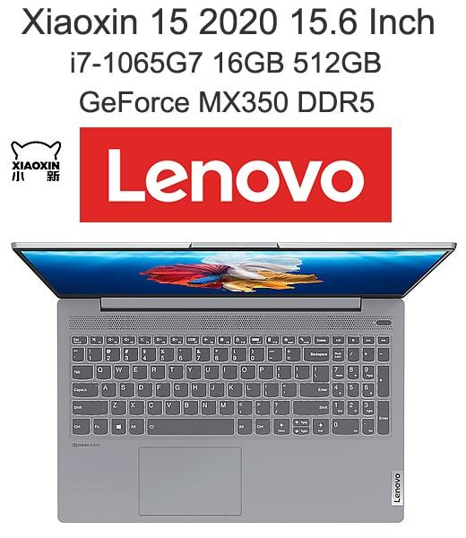 Lenovo Xiaoxin 15 2020 Laptop With 10th Gen Core i7 Processor AMD Ryzen 4800H 16GB Ram 512GB SSD MX350 Graphics 15.6 Inch - GreatEagleInc