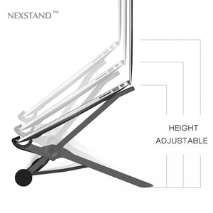 NEXSTAND K2 laptop stand folding portable adjustable laptop lapdesk office lapdesk.ergonomic notebook stand (black) - GreatEagleInc