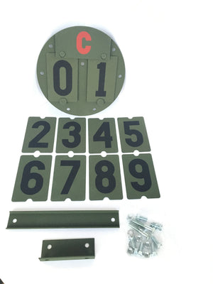 Military Vehicle Bridge Weight Plate Set for HMMWV HUMVEE JEEP WILLYS LAND ROVER 5 TON