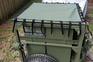 M1164 Growler Ammunition Trailer Cover Green