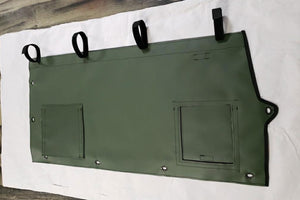 Rear Lower M1161 Driver's Side (Left Hand) Green Panel