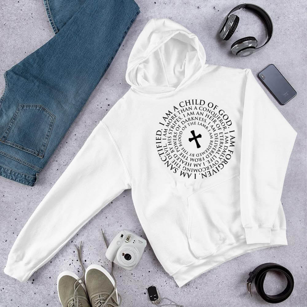 """I Am A Child Of God"" Unisex Hoodie"
