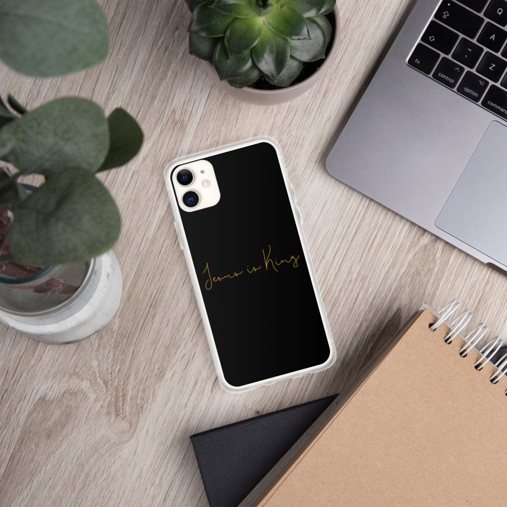 """Jesus Is King"" iPhone Case"