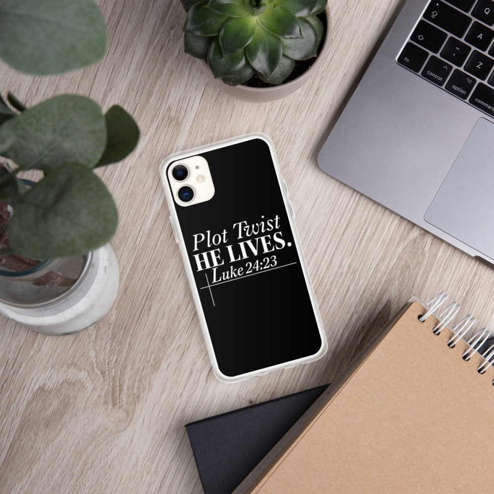 """Luke 24:23"" iPhone Case"