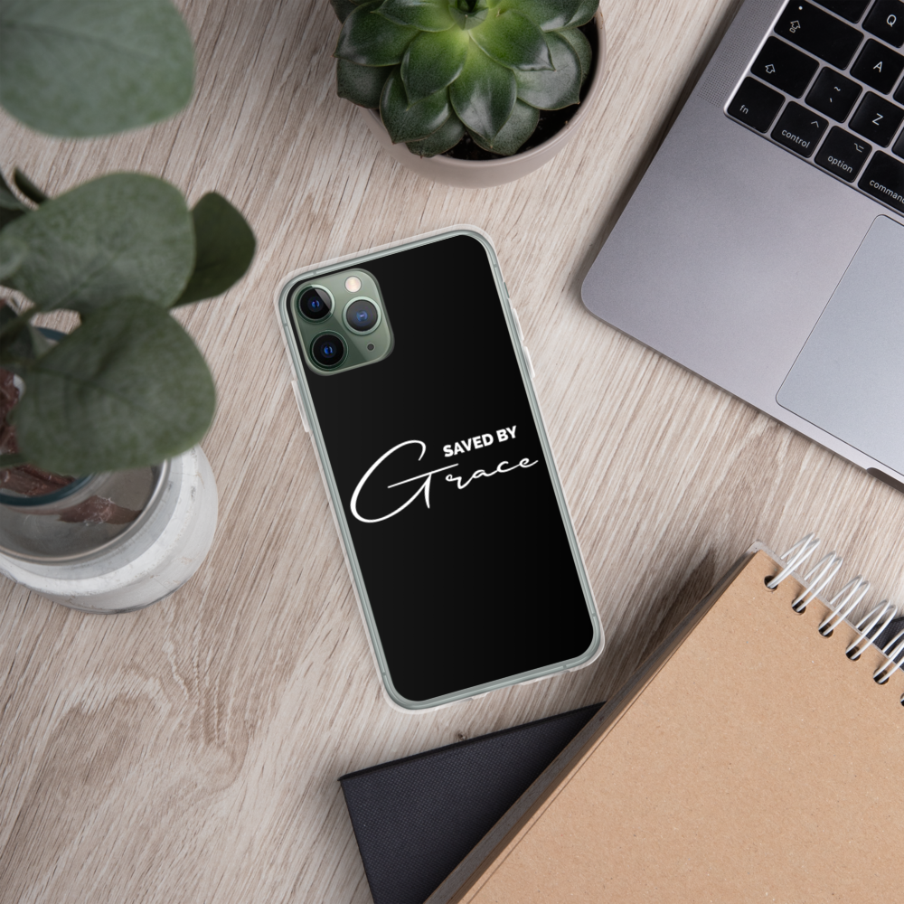"""Saved By Grace"" iPhone Case"