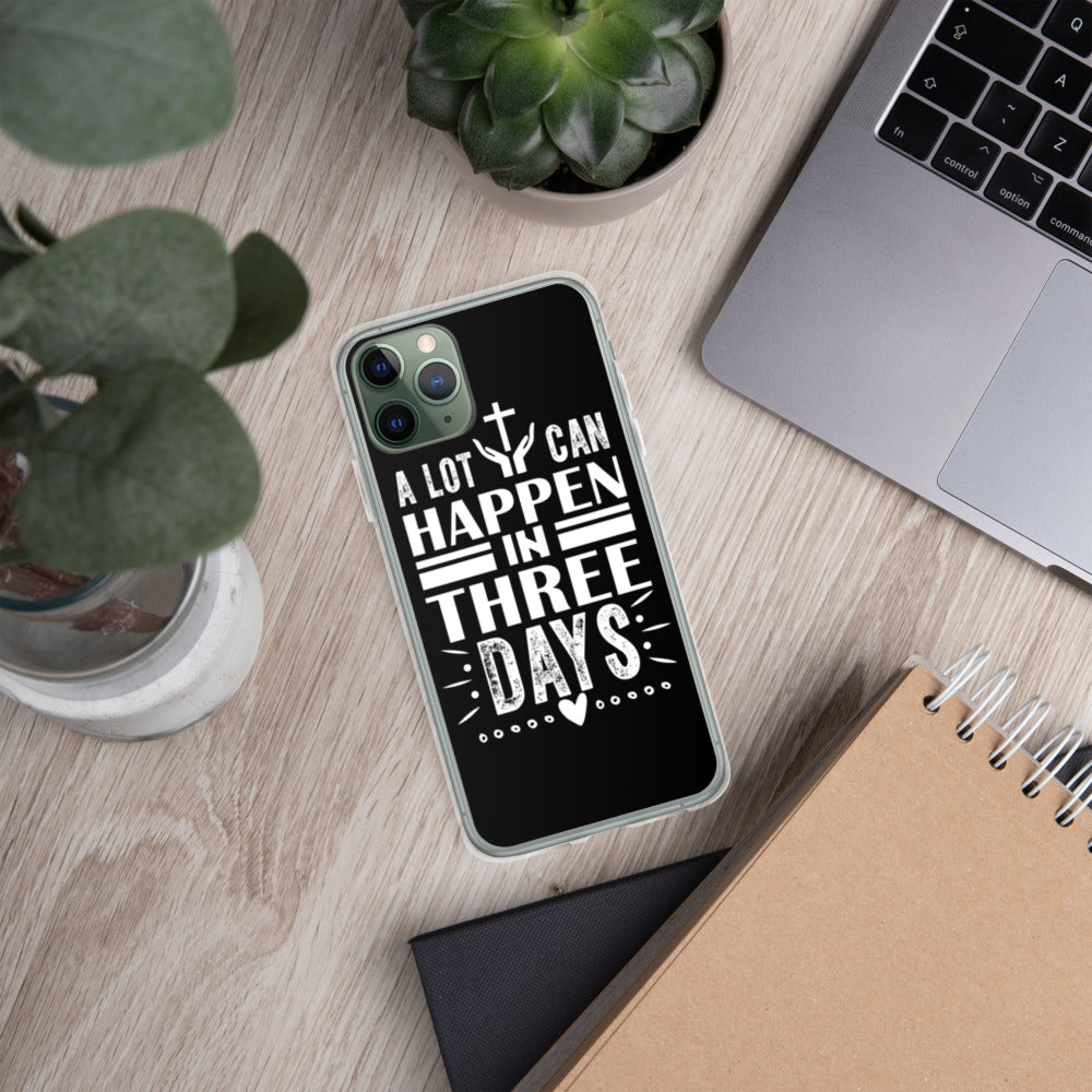 """Genesis 30:36 "" iPhone Case"
