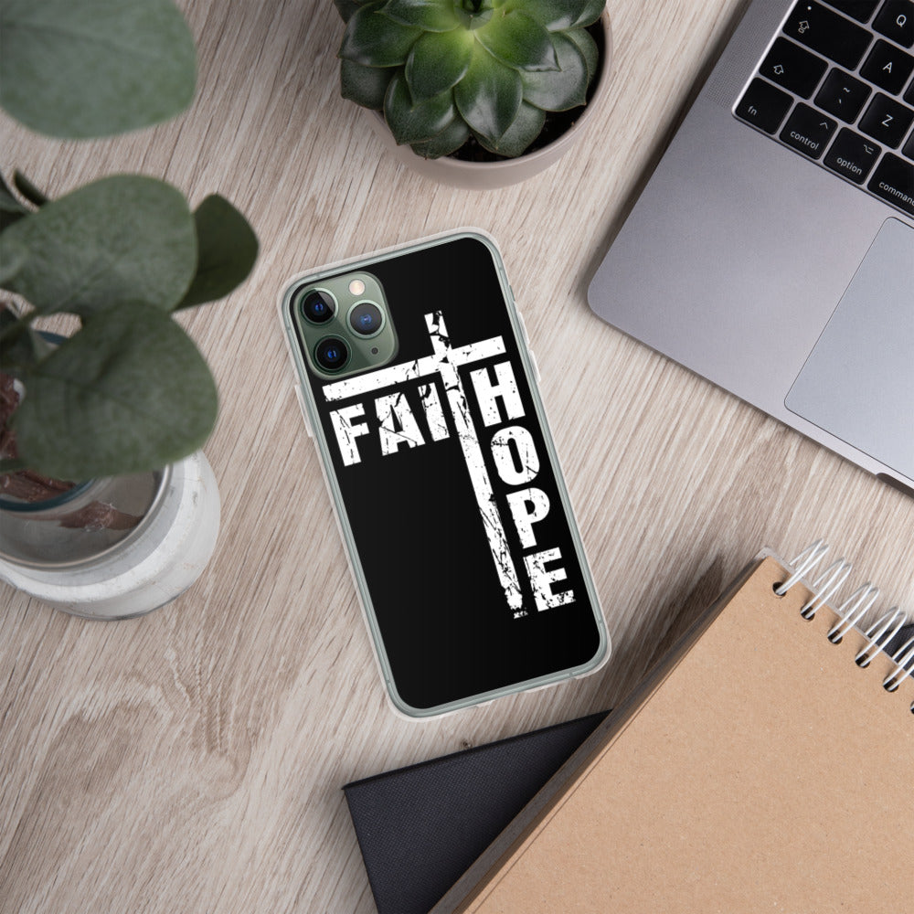 """Faith and Hope of the Cross"" iPhone Case"