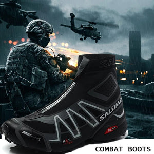 New Waterproof Tactical Military Cross Country Boots