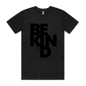 Be Kind Men's Tee - Dark