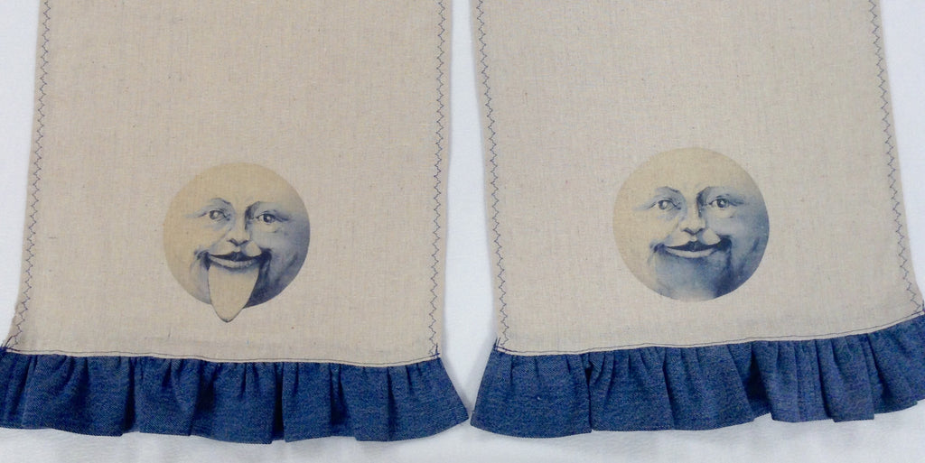 Man in the Moon Table Runner