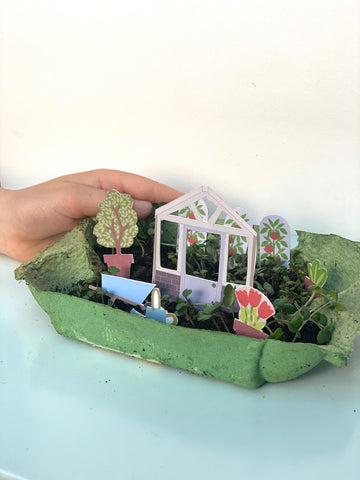 gardening craft activity for kids