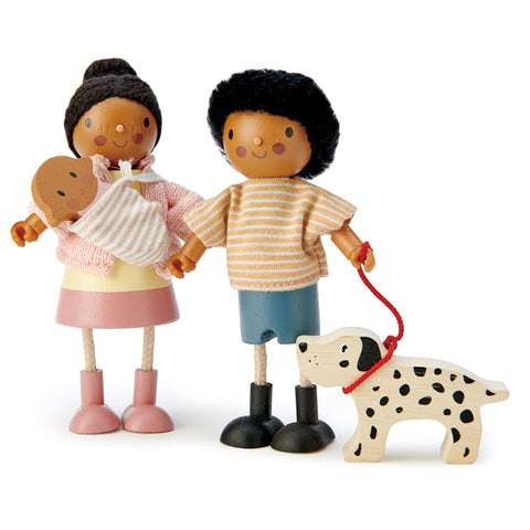 brown dolls house dollies