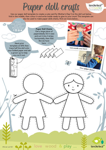 mothers day card free printable activity
