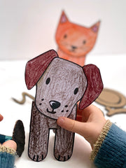 pet crafts activity ideas for children