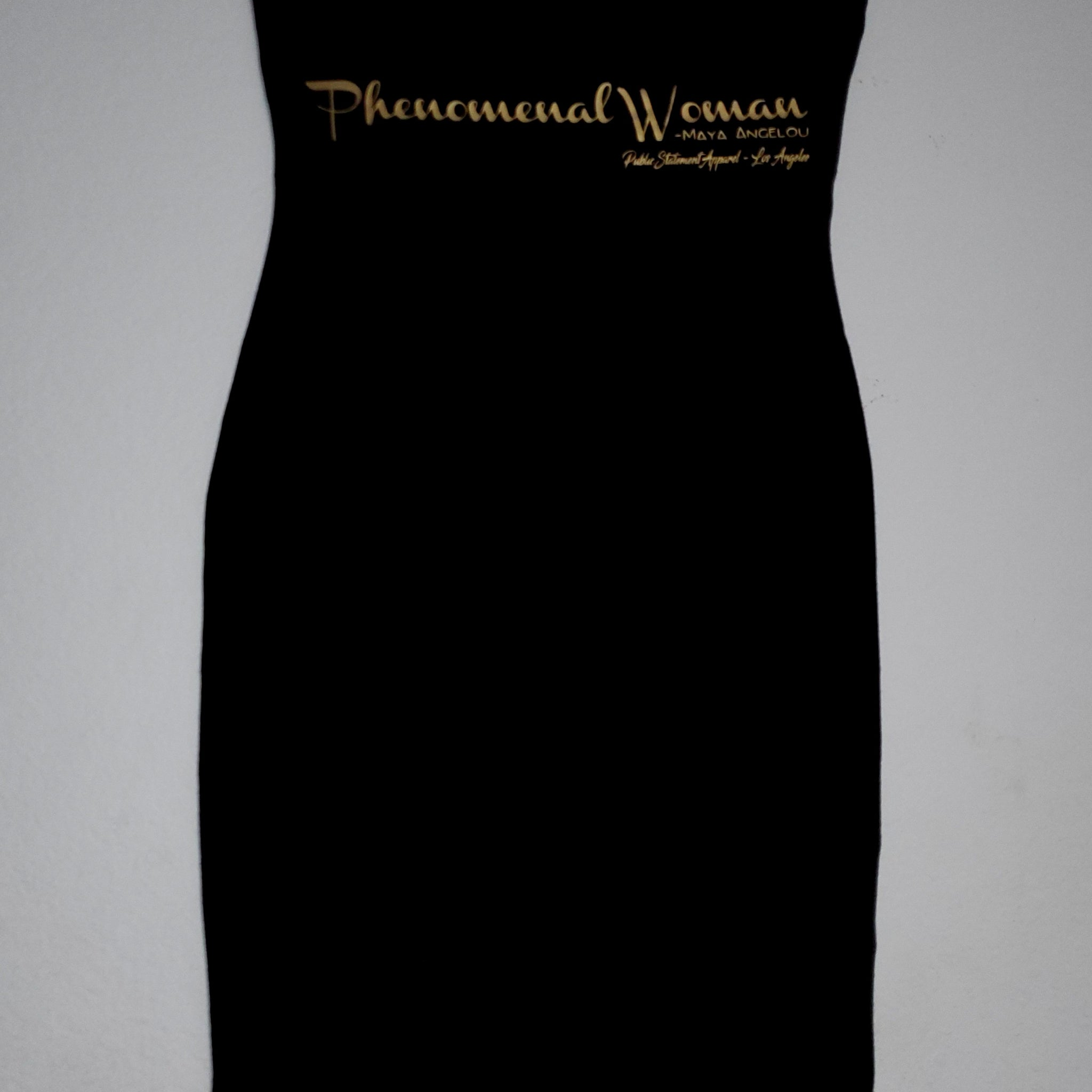 PSA Bandeau Dress - Phenomenal Woman