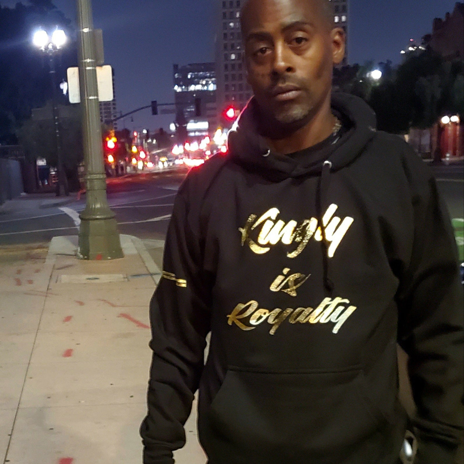 KINGLY X PSA Collabo Hoodie - Kingly Is Royalty/Queenly Is Royalty