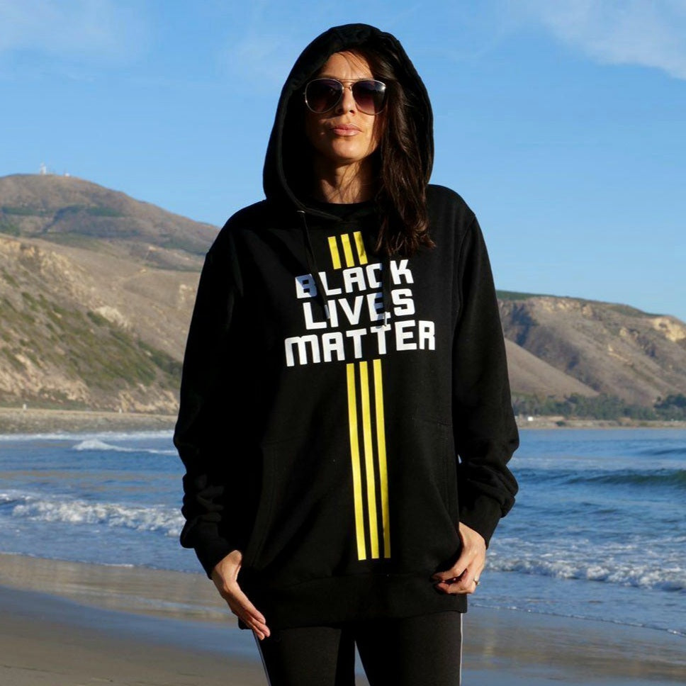 BLM LA X PSA Pullover Hoodie - It is our duty to fight for freedom...