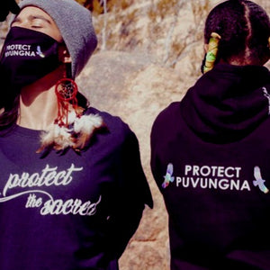 Protect Puvungna X PSA Pullover Hoodie - Protect the Sacred