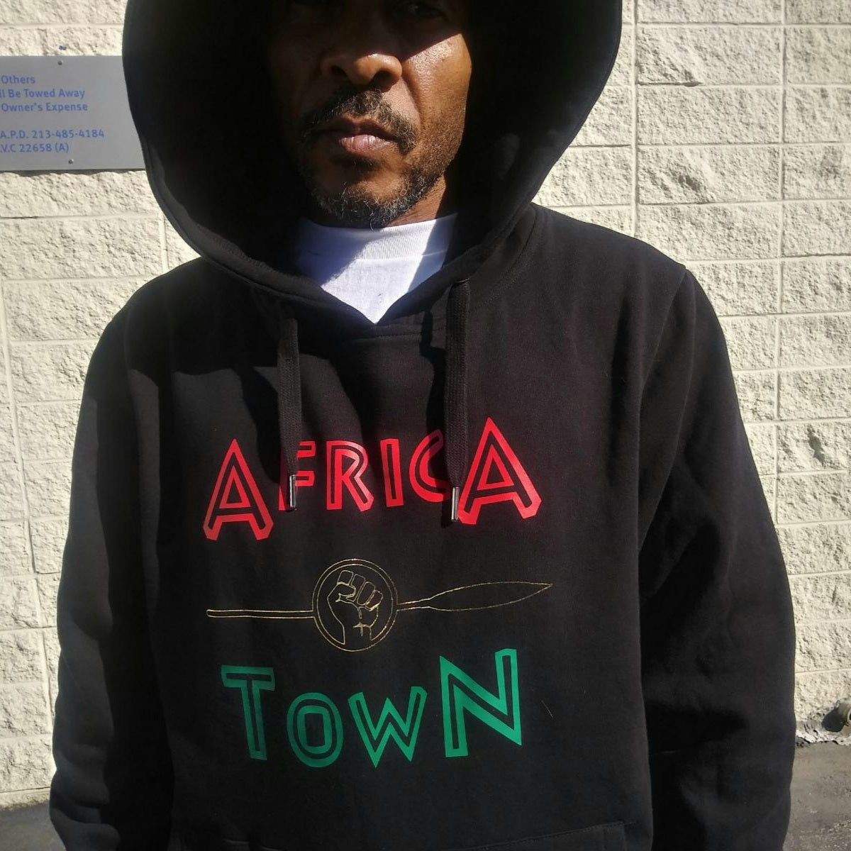 Africa Town X PSA Pullover Hoodie