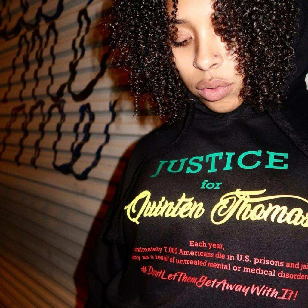 The Voices for Quinten Thomas X PSA Pullover Hoodie