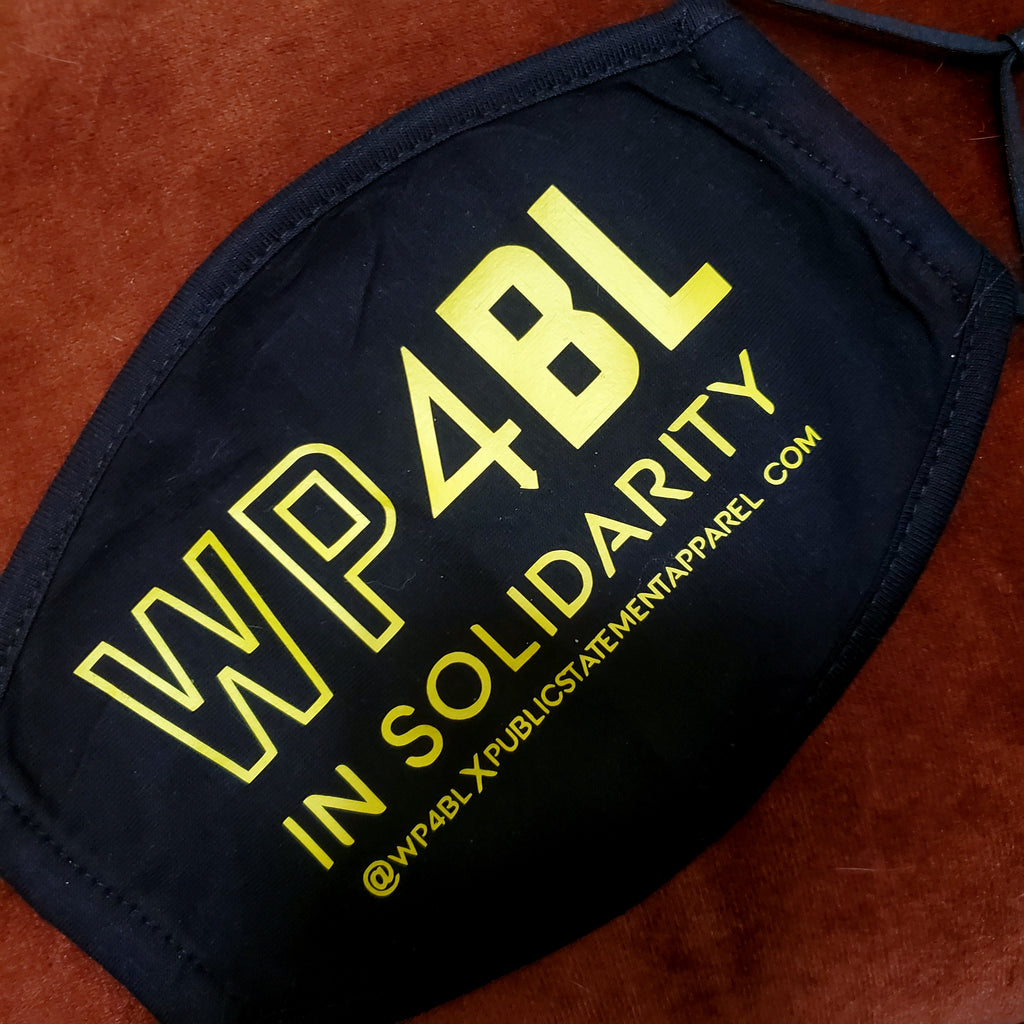 WP4BL X PSA Mask - In Solidarity