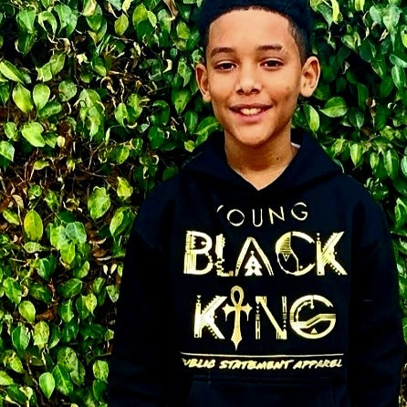 PSA Hoodie (Youth Sizes) - Young Black King