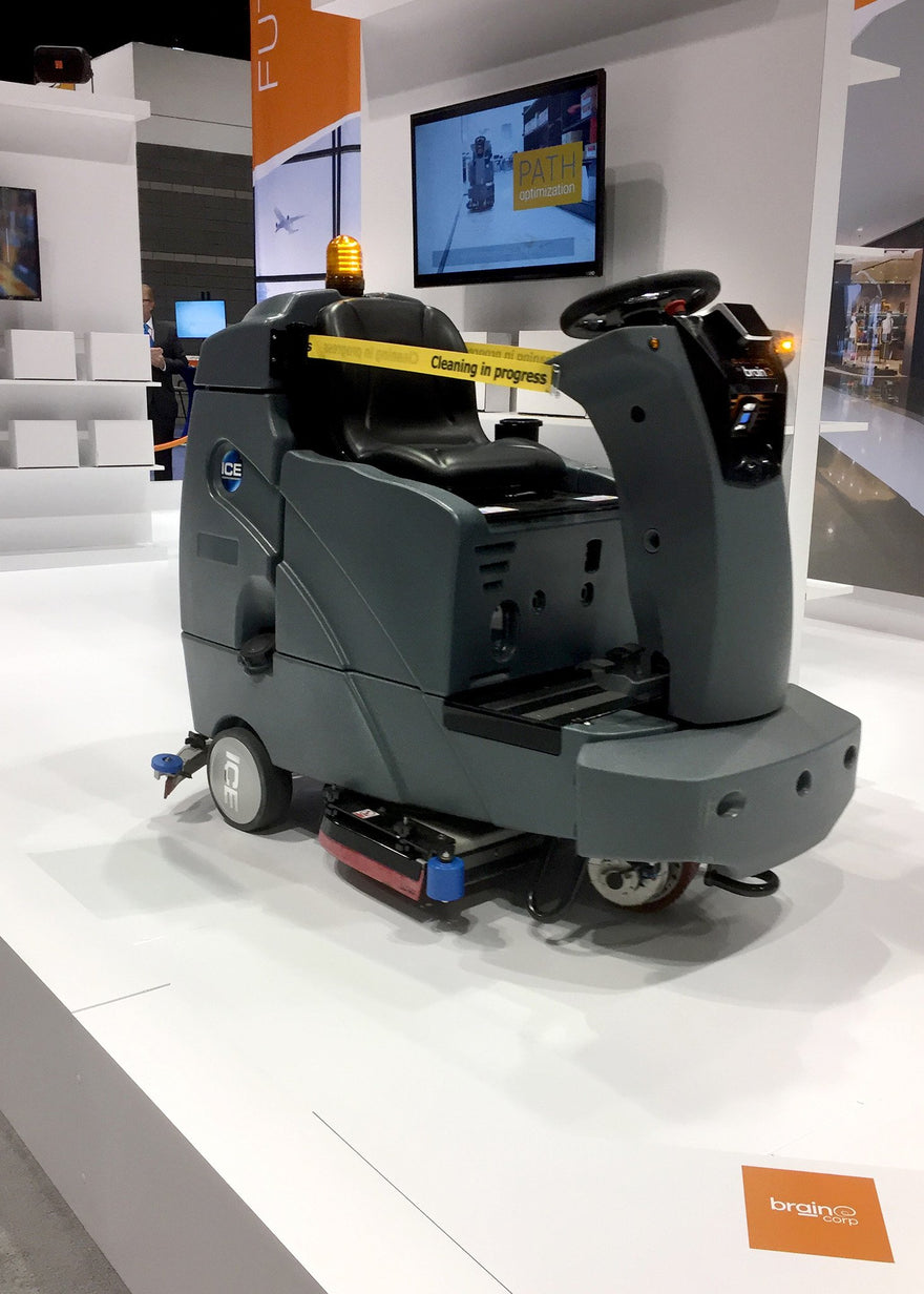 It Drives Itself??? Automated Floor Machines