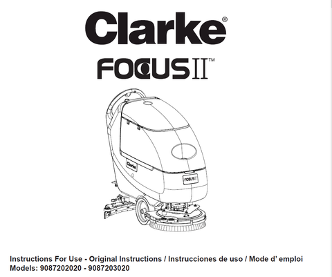 Clarke Focus L20 Parts Manual Boost L20