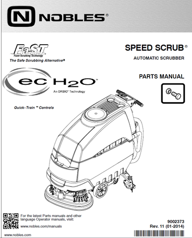 Nobles SS5 parts manual hf2-v4-tn-24-20