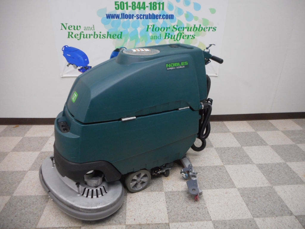 Left Side of Refurbished Tennant Nobles Floor Scrubber