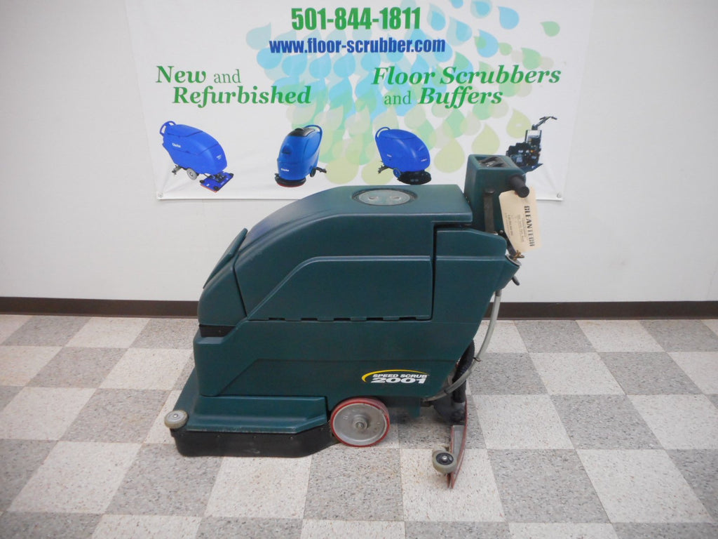 Used Tennant Nobles floor scrubber 2001