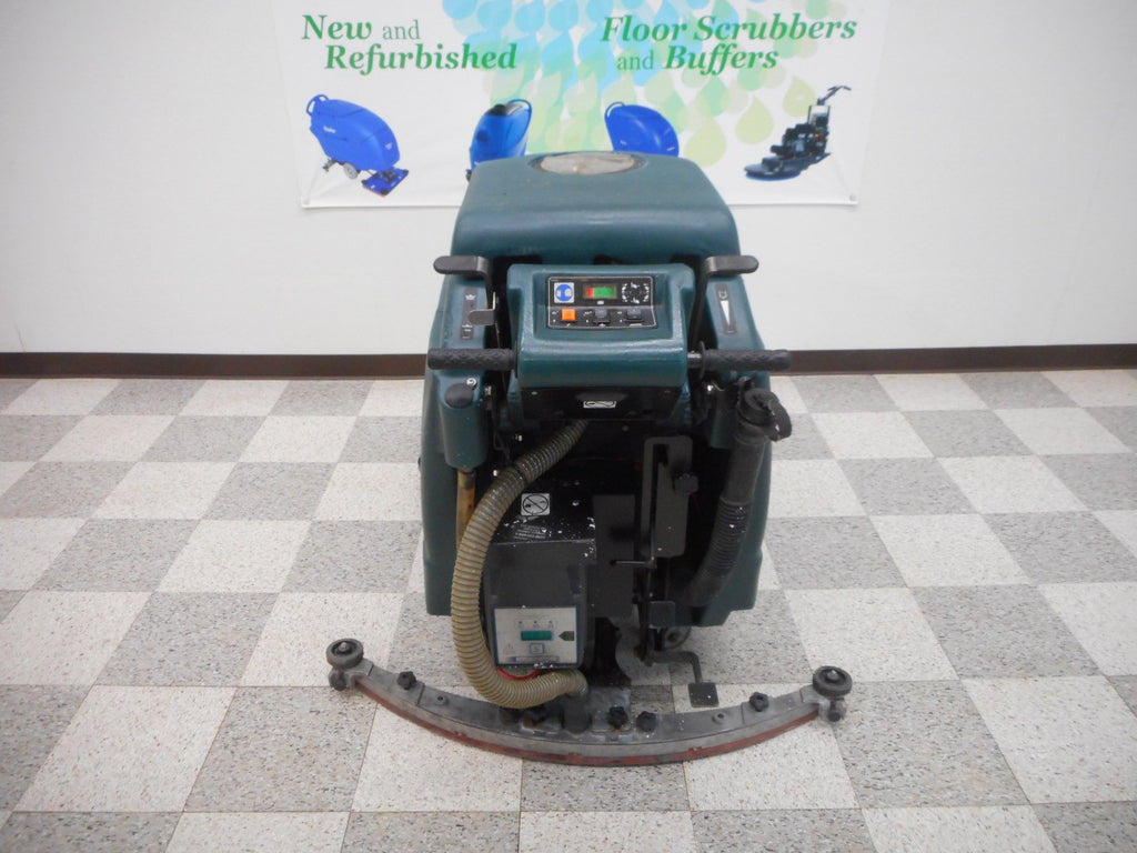 Control panel on a nobles 3301 floor scrubber