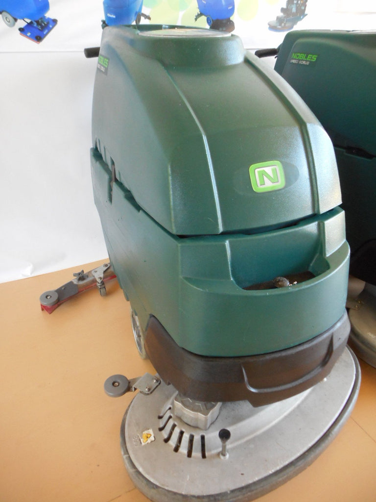 Front view used nobles ss5 automatic floor scrubber
