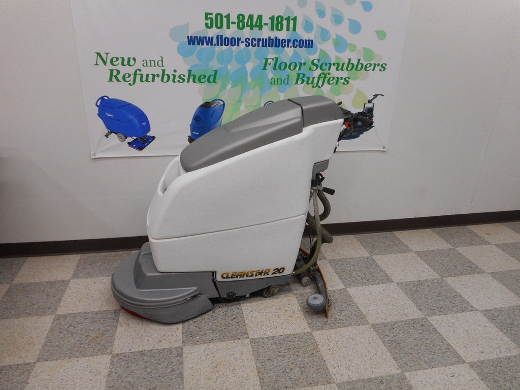 "20"" used floor scrubber Pioneer CleanStar 20"