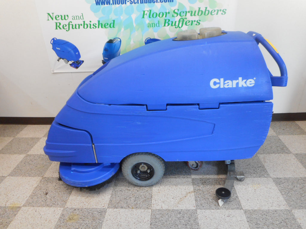 Clarke reconditioned floor cleaning machine