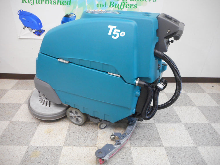"Tennant T5e 32"" Refurbished Walk Behind Disc Floor Scrubber"