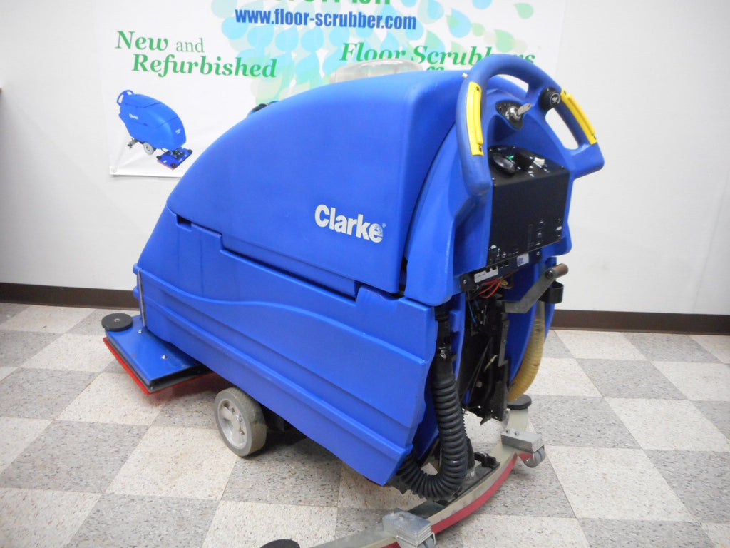 Refurbished Floor Scrubber   Clarke Boost 28