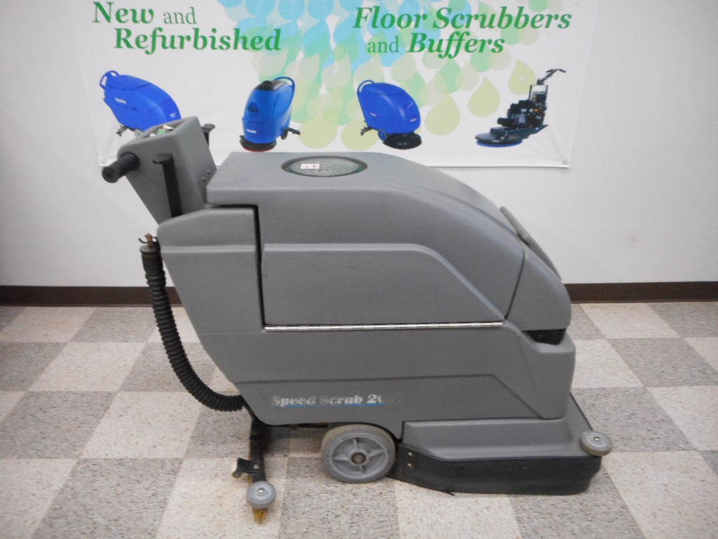 "20"" used floor scrubber"