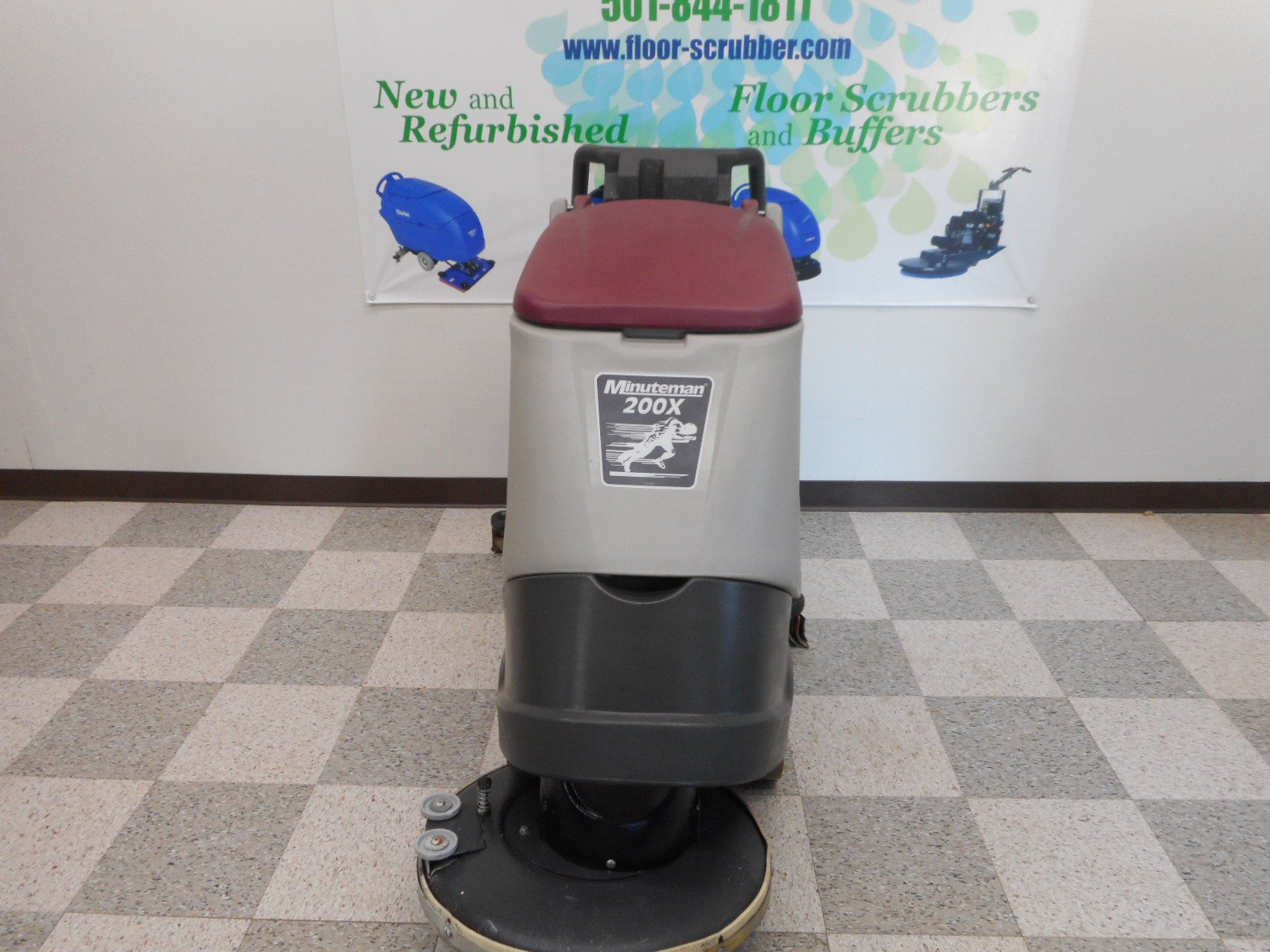 scrubber cylindrical rider ride battery minuteman side floors on floor condor powered advance images used preowned front parts