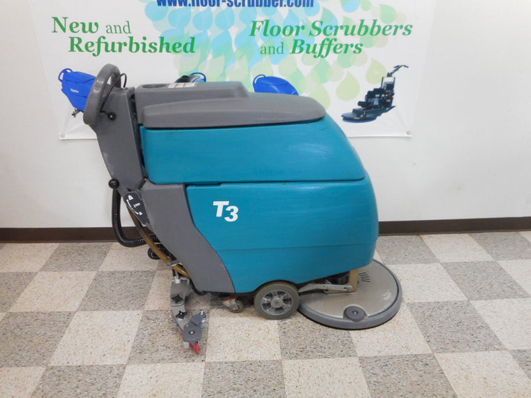 Tennant T3 Disc reconditioned floor scrubber