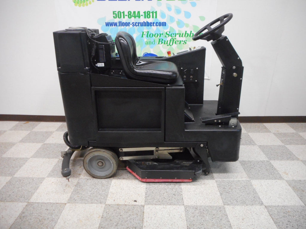 Right side of 3329 Champ Rider FLoor Scrubber machine