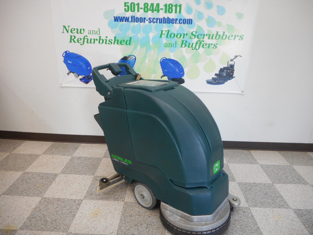 nobles floor scrubber