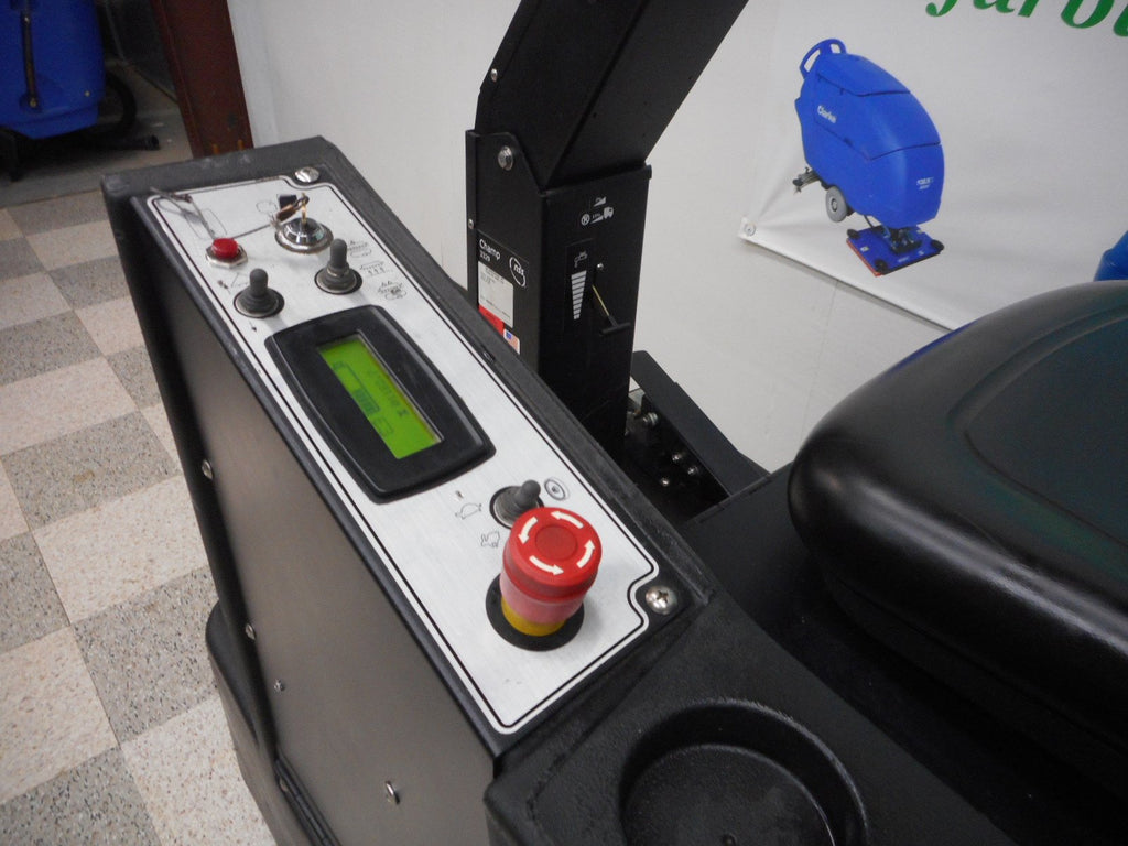 Control panel on NSS Champ Reconditioned floor scrubber 3329