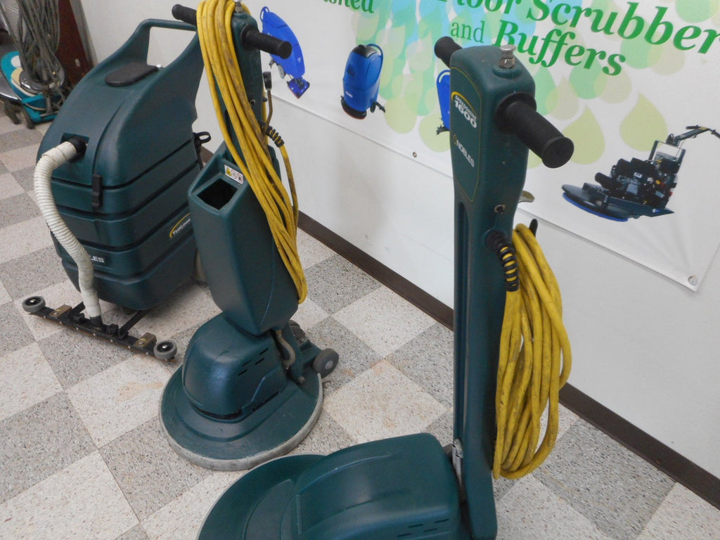 Floor Buffer Package with Wet Vac