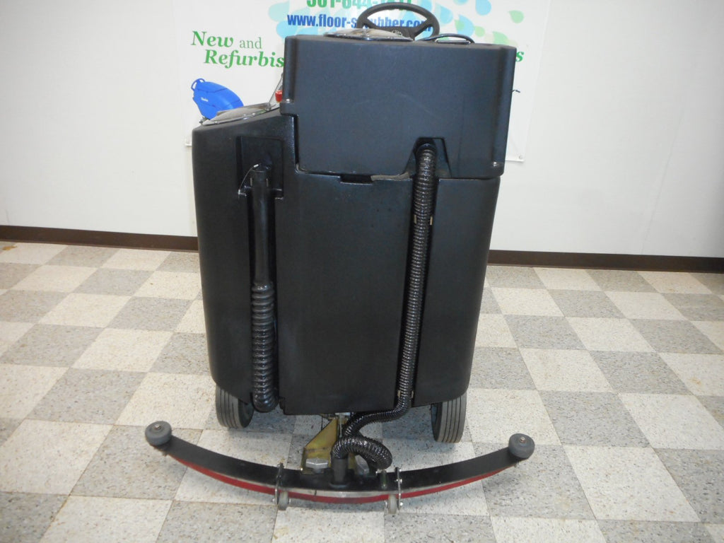 Champ ride on floor scrubber used