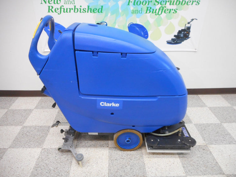 Reconditioned Clarke Floor Scrubber Focus II Boost L20