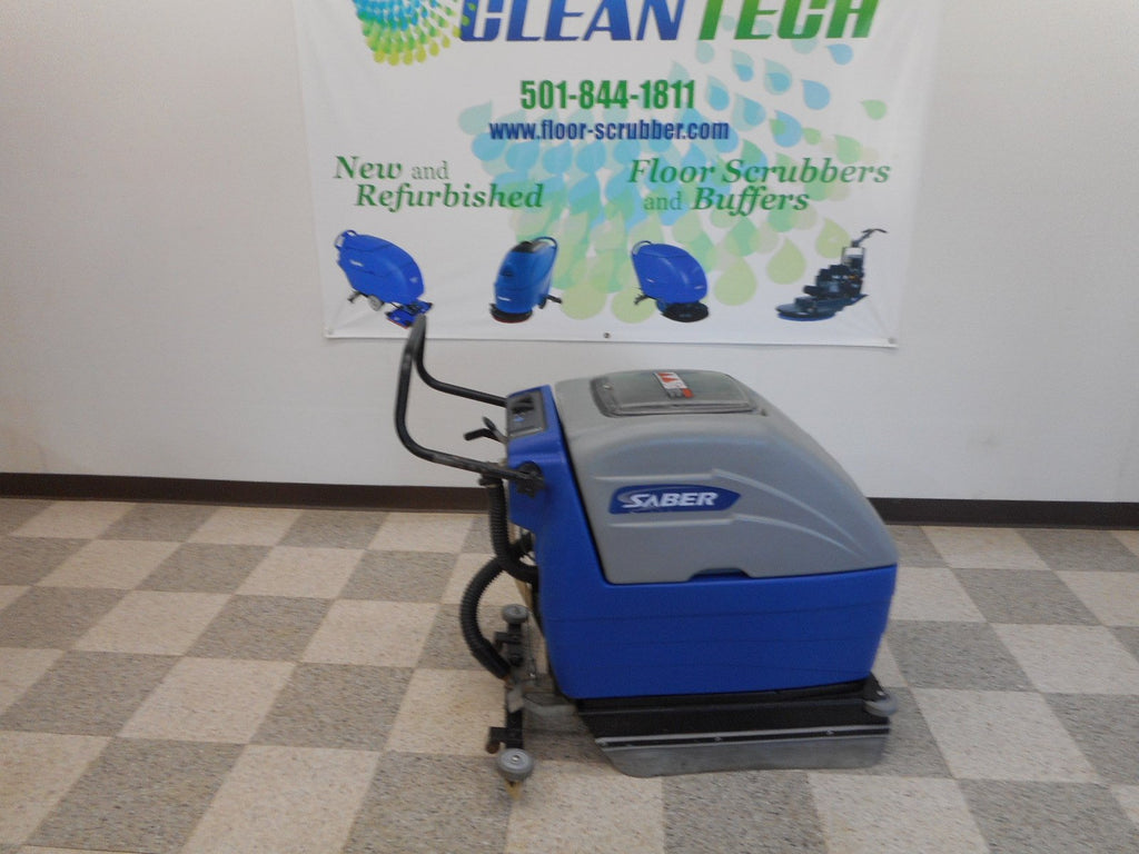 Compact 17 used refurbished floor scrubber
